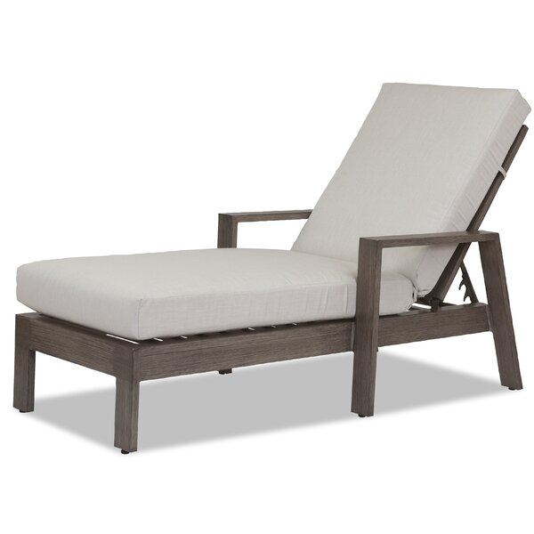 Laguna Chaise Lounge with Cushion by Sunset West Sunset West