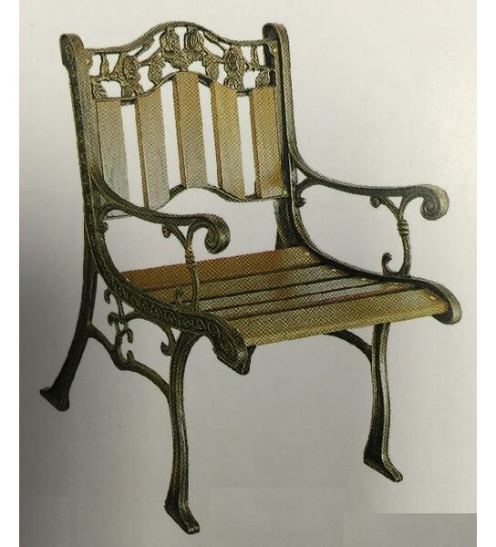 Alexandria Patio Dining Chair by DC America
