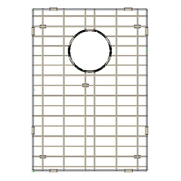 Stainless Steel 13 W x 18 D Sink Grid by Yosemite Home Decor
