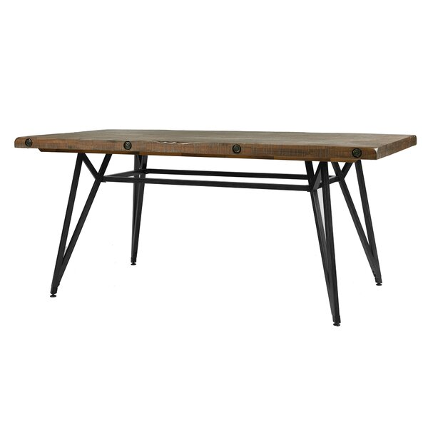 Cesare Gathering Counter Height Solid Wood Dining Table by Trent Austin Design