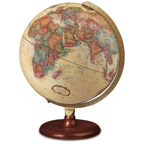 Traditional World Globe by Three Posts