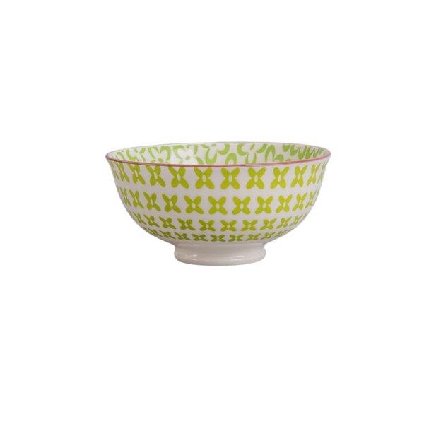 Ooh La La 13 oz. Paisley Cereal bowl (Set of 4) by BIA Cordon Bleu