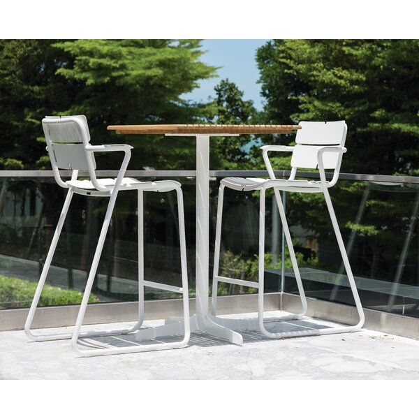 Ceru 3 Piece Bar Height Dining Set by OASIQ