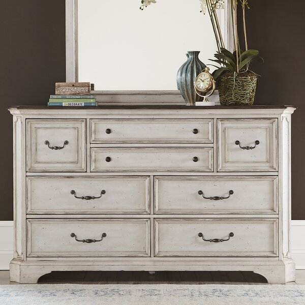 Corona 8 Drawer Double Dresser by One Allium Way