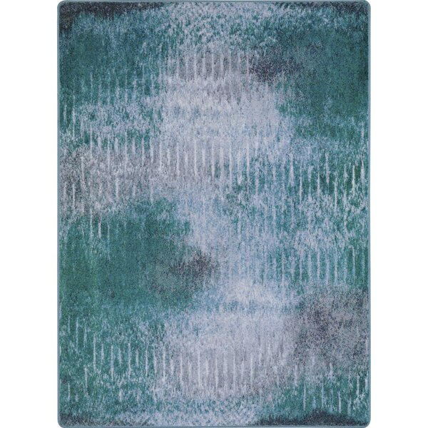 Frazee Green/Gray Area Rug by Ivy Bronx