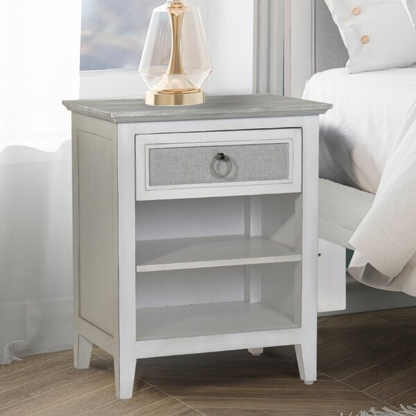 Juliet Island 1 Drawer Nightstand by Rosecliff Heights