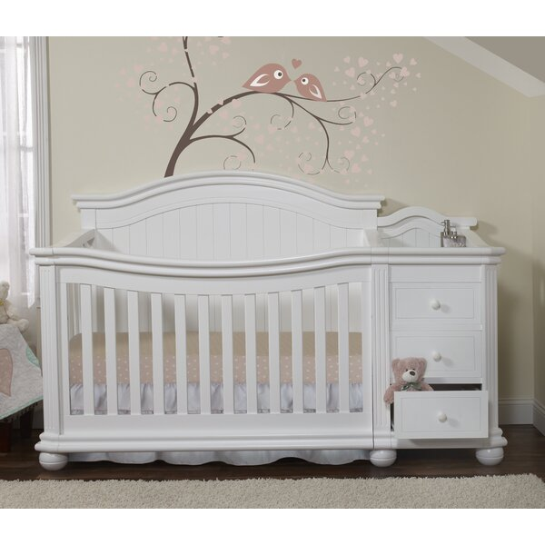Vista Elite 4-in-1 Convertible Crib and Changer by
