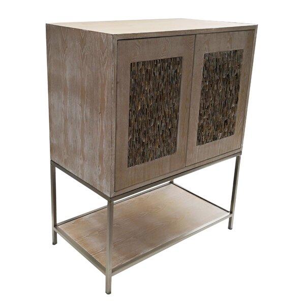 Haro Wooden 2 Door Accent Cabinet By World Menagerie