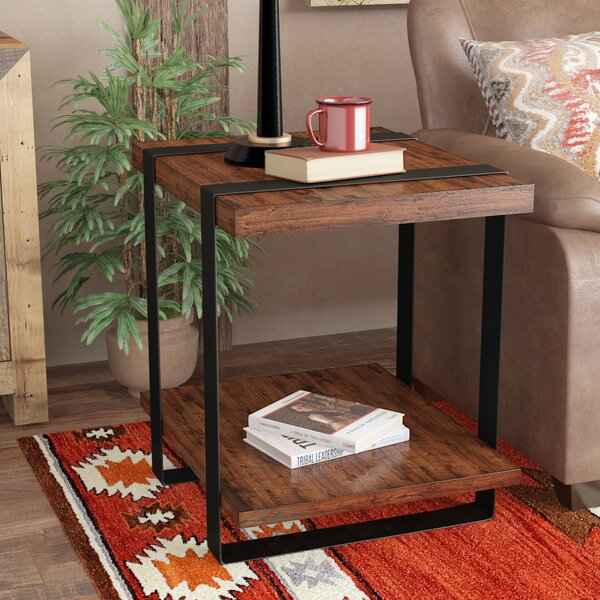 Elder Side Table by Millwood Pines