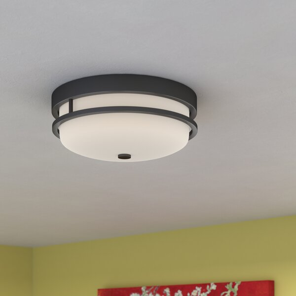 Collin 2-Light Flush Mount by World Menagerie