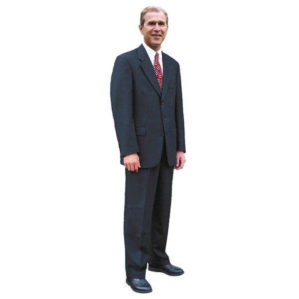 Patriotism and Politics President George W. Bush Cardboard Stand-up by Advanced Graphics