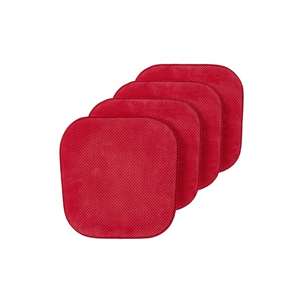 Ultra Comfort Non-Slip Indoor/Outdoor Dining Chair Cushion (Set of 4)
