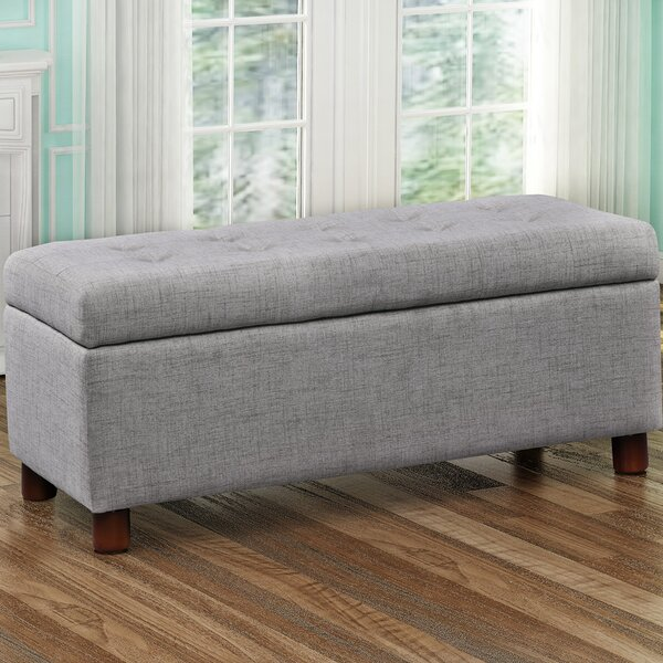 Dulaney Upholstered Storage Bench by Charlton Home