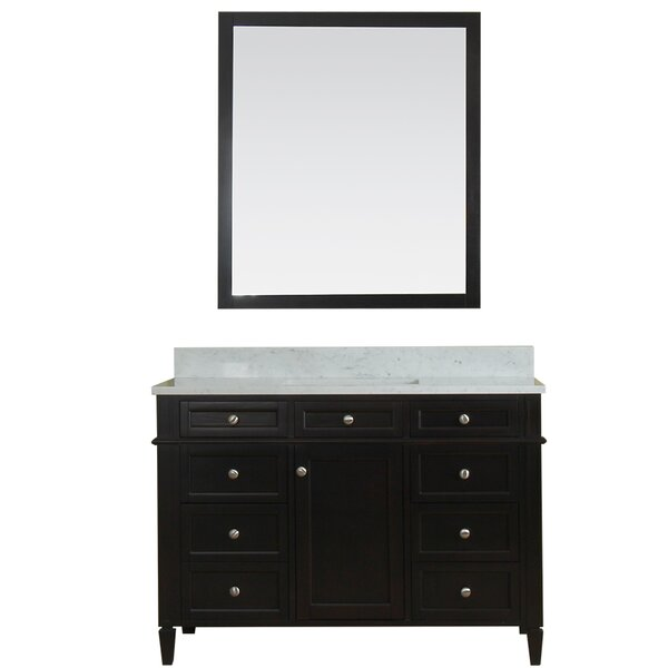 Costillo 48 Single Bathroom Vanity Set with Mirror by Red Barrel Studio