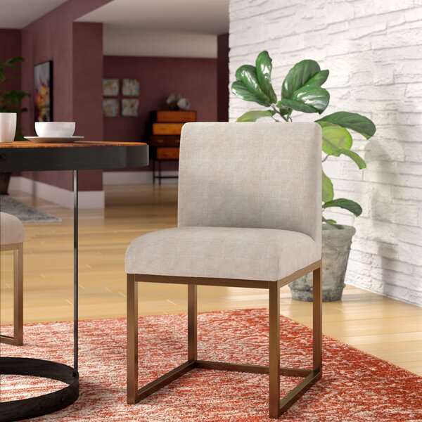 Govea Upholstered Dining Chair by Brayden Studio