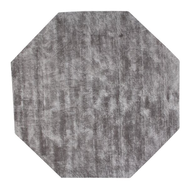 Pressley Hand-Woven Gray Area Rug by Orren Ellis