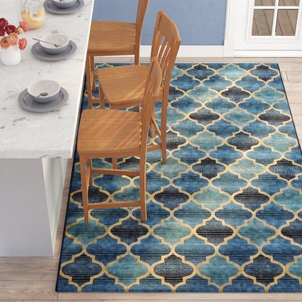 Alice Blue Indoor/ Indoor/Outdoor Area Rug by Winston Porter