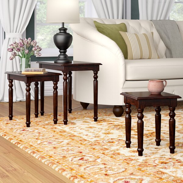 Marisol 3 Piece Nesting Tables by Charlton Home