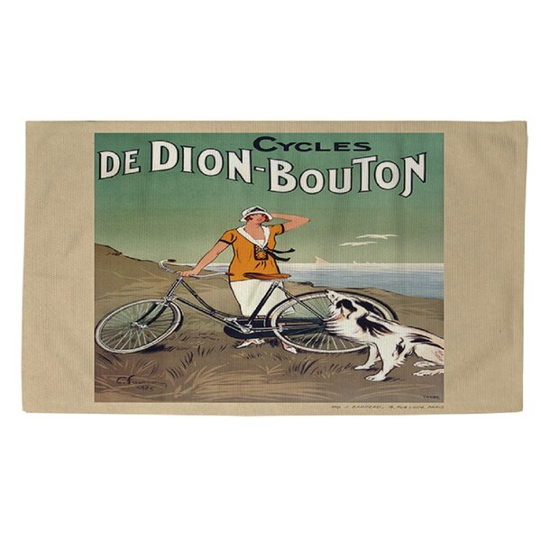 Cycles De Doin Bouton Area Rug by Manual Woodworkers & Weavers