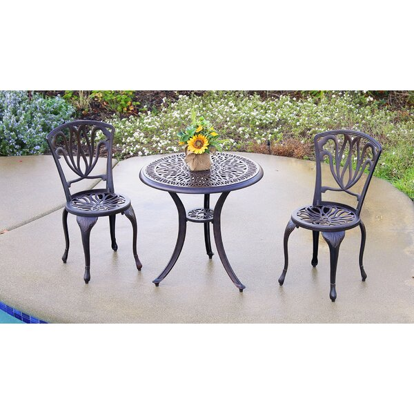 Falkner 3 Piece Bistro Set by August Grove
