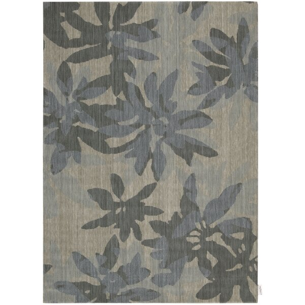 Urban Winter Flower Vapor Area Rug by Calvin Klein