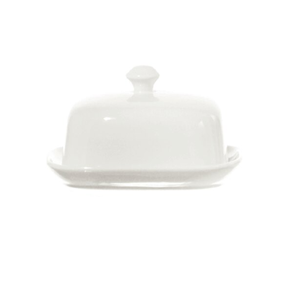 Terrine Covered Butter Dish by La Porcellana Bianca