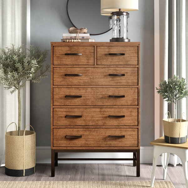 Arcadia 6 Drawer Chest by Laurel Foundry Modern Farmhouse