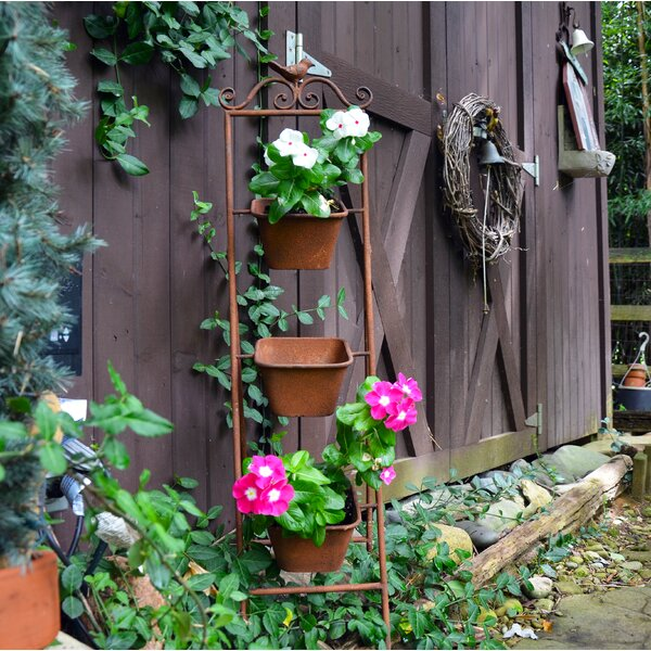 Bird Plant Stand by Red Carpet Studios LTD