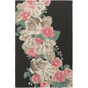 Low priced Lacoste Hand-Tufted Pink Area Rug ByHouse of Hampton