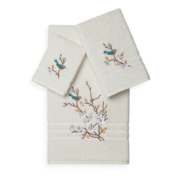 Hacking 3 Piece Turkish Cotton Towel Set by August Grove