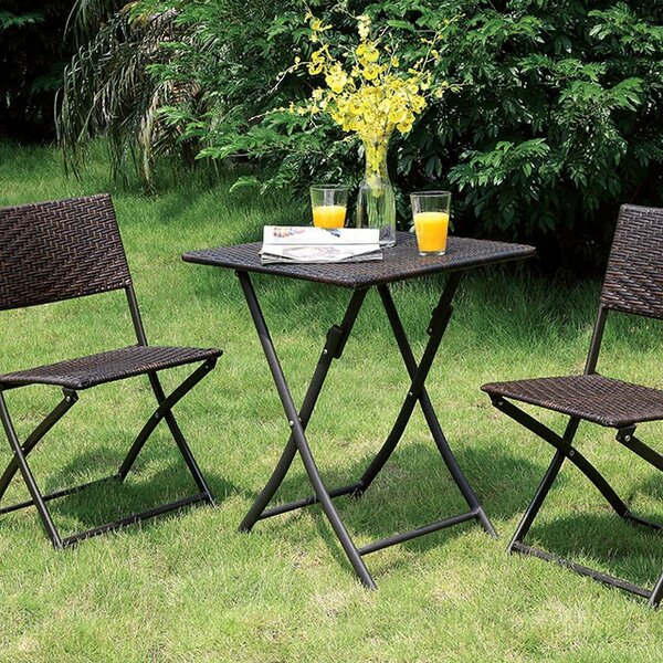 Staub 3 Piece Bistro Set by Winston Porter