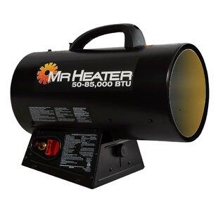 85,000 BTU Propane Forced Utility Heater by Mr. Heater