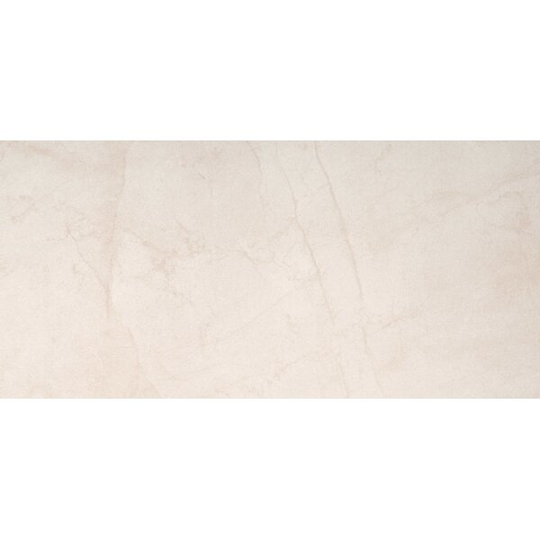 Citadel 24 x 35 Porcelain Field Tile in Ivory by Emser Tile