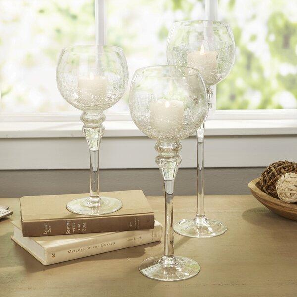 Glass Candlestick by Birch Lane™