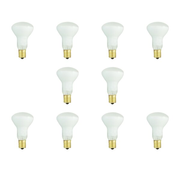40W E17 Dimmable Incandescent Light Bulb (Set of 10) by Bulbrite Industries