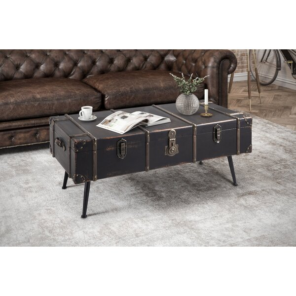 Loucas Trunk Coffee Table by Charlton Home Charlton Home