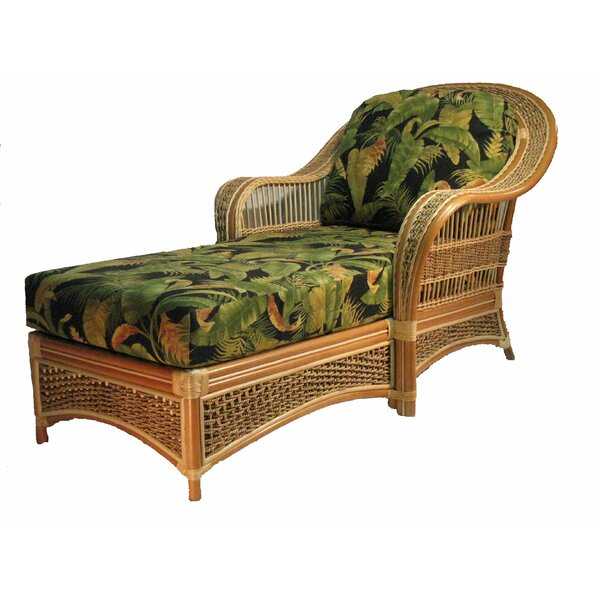 Chaise Lounge By Spice Islands Wicker