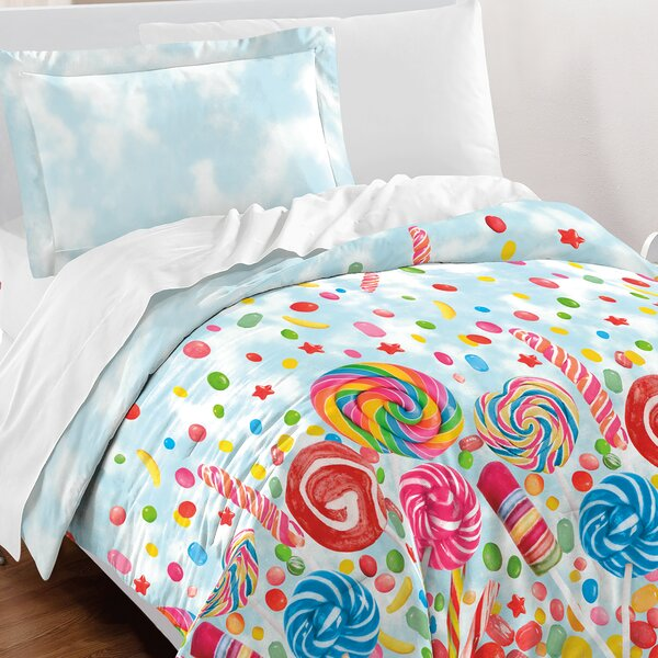 Hastings Cotton 3 Piece Comforter Set by Zoomie Kids