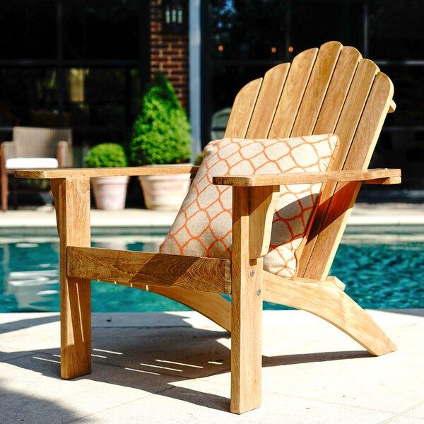 Coyne Teak Adirondack Chair by Millwood Pines Millwood Pines
