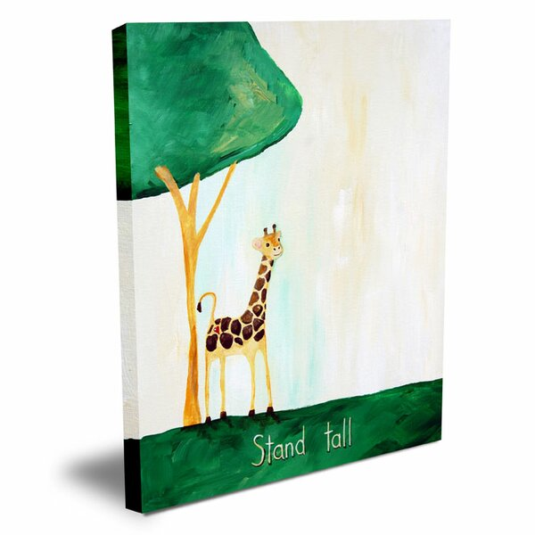 Words of Wisdom Stand Tall Canvas Art by Cici Art Factory