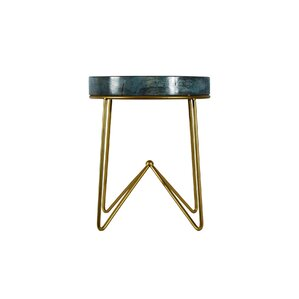 Miami Round End Table by Ibolili