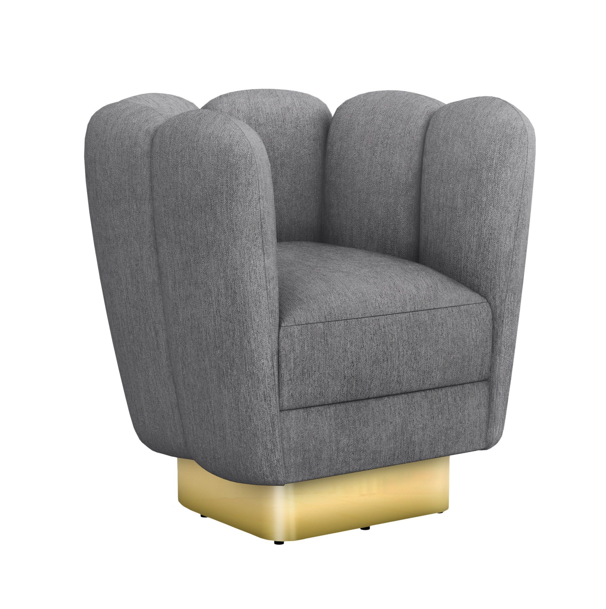 Zitza Lounge Stoel.Interlude Gallery Swivel Lounge Chair Wayfair