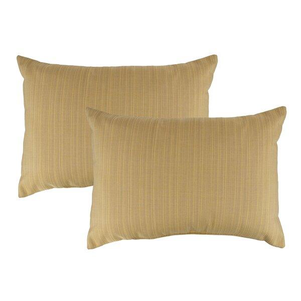 Ihlen Outdoor Sunbrella Lumbar Pillow (Set of 2)