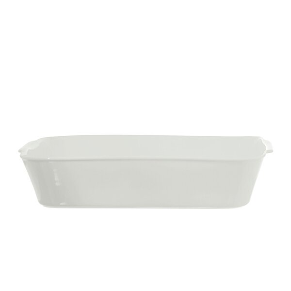 Anghiari Rectangular Baking Dish by La Porcellana Bianca