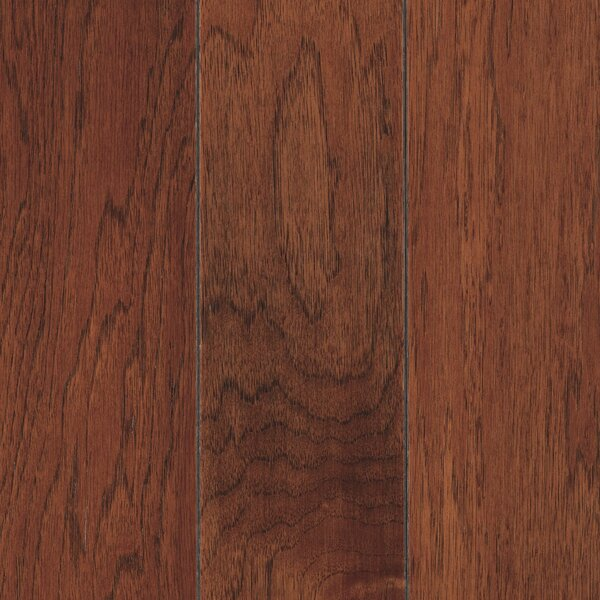 La Grotta 5 Engineered Hickory Hardwood Flooring in Lantern by Mohawk Flooring