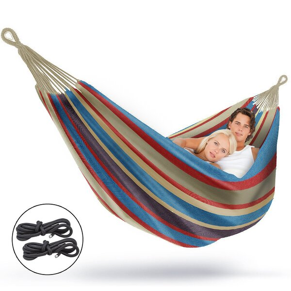 Anastasia Double Stripes Tree Hammock by Freeport Park