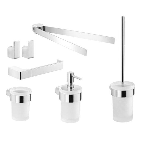 Pirenei 7 Piece Bathroom Hardware Set by Gedy by Nameeks