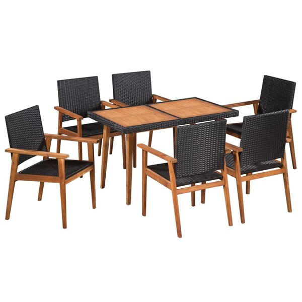 Bovina 7 Piece Dining Set by Bay Isle Home