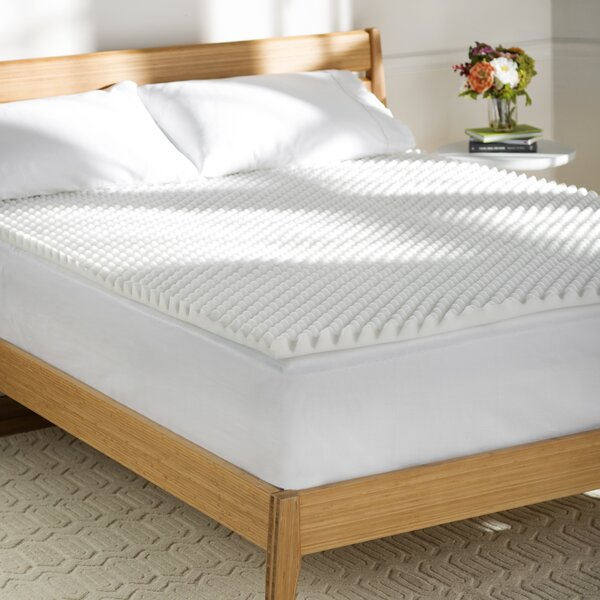 Wayfair Basics 1.5 Textured Foam Mattress Topper by Wayfair Basics™