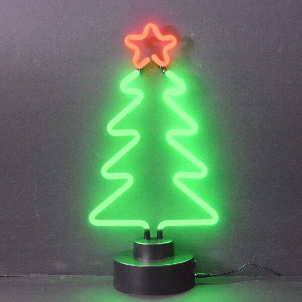 Business Signs Christmas Tree Neon Sign by Neonetics